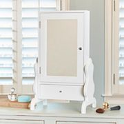 InnerSpace Table Mirror Jewelry Armoire