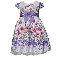 Girls 4-6x Blueberi Boulevard Floral Print Dress