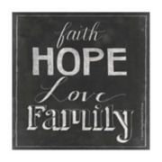 Thirstystone OCS Chalkboard Faith 4-pc. Coaster Set