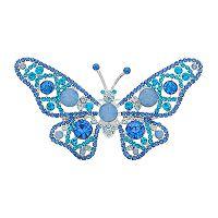 Dana Buchman Blue Butterfly Pin