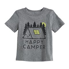 Baby Boy Jumping Beans® 'Happy Camper' Graphic Softest Tee