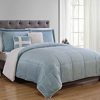 VCNY Sherpa Fleece Comforter Set