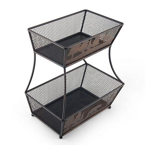 Mossy Oak 2-Tier Basket