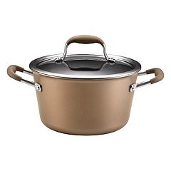 Anolon Advanced Bronze 4.5-qt. Hard-Anodized Nonstick Tapered Stockpot
