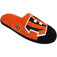 Men's Forever Collectibles Cincinnati Bengals Colorblock Slippers