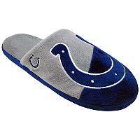 Men's Forever Collectibles Indianapolis Colts Colorblock Slippers