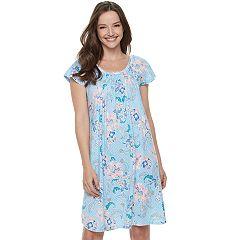 Women's Miss Elaine Essentials Pajamas: Cottonessa Short Sleeve Nightgown