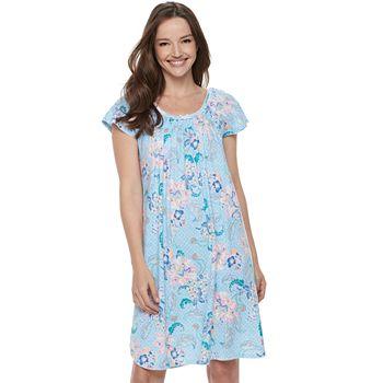 Women s Miss Elaine Essentials Pajamas  Cottonessa Short Sleeve Nightgown 0bc41d5bb