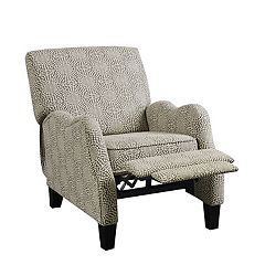 Madison Park Lerna Push Back Recliner Chair