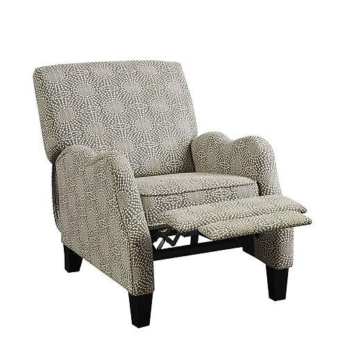 Madison Park Lerna Push Back Recliner Chair