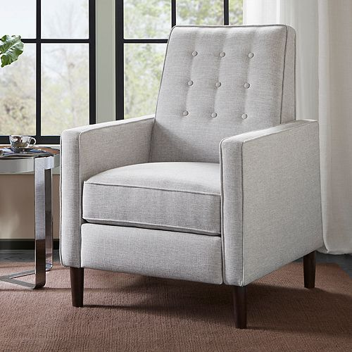 Madison Park Aartwood Push Back Recliner Chair