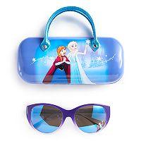 Disney's Frozen Anna & Elsa Girls 4-16 Sunglasses & Hardcase Set