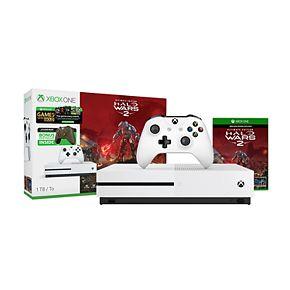 Xbox One 1TB Bundle with Halo Wars 2 and Bonus Controller