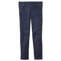 Girls 4-8 Carter's Faux Denim Jeggings