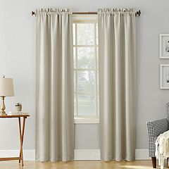 Sun Zero Blackout 1-Panel Ludlow Window Curtain