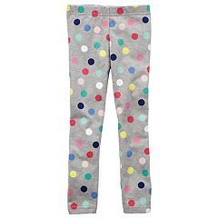 Girls 4-8 Carter's Polka Dot Leggings