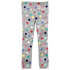 Girls 4-8 Carter's Polka Dot Leggings