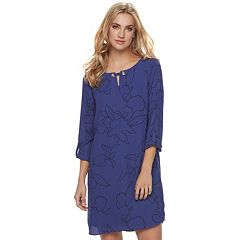 Women's Apt. 9® Grommet Keyhole Shift Dress