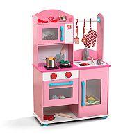 Step2 Midtown Modern Wood Pink Kitchen