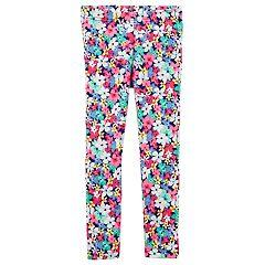 Girls 4-8 Carter's Floral Print Leggings