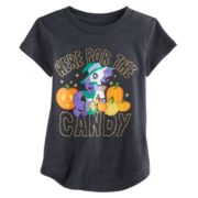 "Toddler Girl Jumping Beans® My Little Pony Rarity ""Candy"" Halloween Graphic Tee"