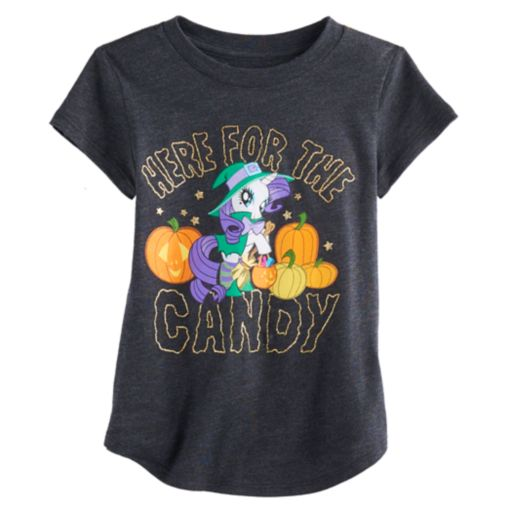 """Toddler Girl Jumping Beans® My Little Pony Rarity """"Candy"""" Halloween Graphic Tee"""