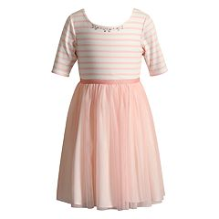 Girls 4-6x Youngland Striped Dress