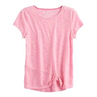 Girls 7-16 SO® Knotted Tee
