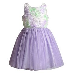 Girls 4-6x Youngland Soutache & Sequin Dress