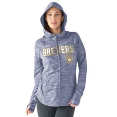 Women's Milwaukee Brewers Red Zone Hoodie
