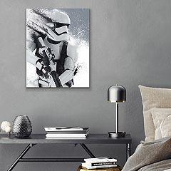 Star Wars First Order Stormtrooper Canvas Wall Art