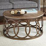 Madison Park Avarado Round Coffee Table