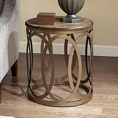 Madison Park Avarado Round End Table