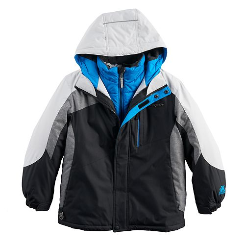 Boys 8-20 ZeroXposur Torque 3-in1 Systems Jacket