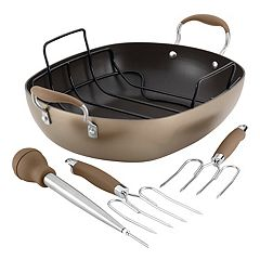 Anolon Advanced Hard-Anodized Nonstick Roaster Set