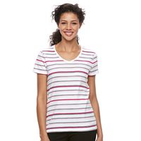 Women's Croft & Barrow® Essential V-Neck Tee