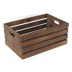 SONOMA Goods for Life™ Small Decorative Farmhouse Crate