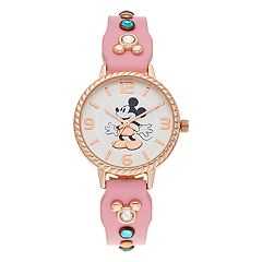 Disney's Minnie Mouse Kids' Crystal Accent Watch