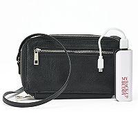 Apt. 9® RFID-Blocking Phone Charging Crossbody Wallet