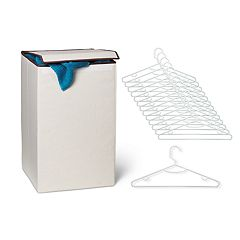 Honey-Can-Do Laundry Hamper & Hanger Set
