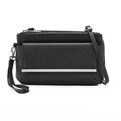 Apt. 9® Double-Entry Crossbody Wallet