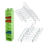 Honey-Can-Do 13-piece Closet Organization Kit