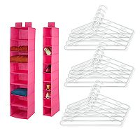 Honey-Can-Do 17-piece Closet Organization Kit