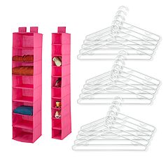 Honey-Can-Do 17 pc Closet Organization Kit