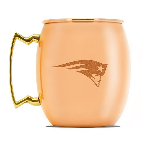 New England Patriots Copper Moscow Mule Mug