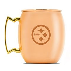 Pittsburgh Steelers Copper Moscow Mule Mug