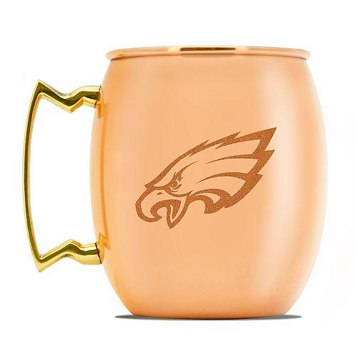 Philadelphia Eagles Copper Moscow Mule Mug
