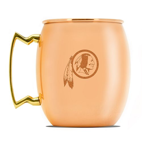 Washington Redskins Copper Moscow Mule Mug