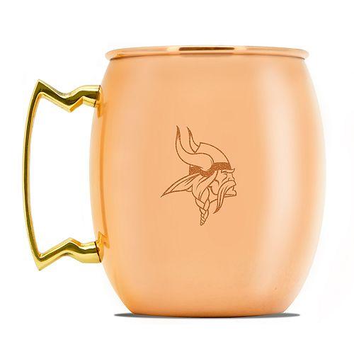 Minnesota Vikings Copper Moscow Mule Mug