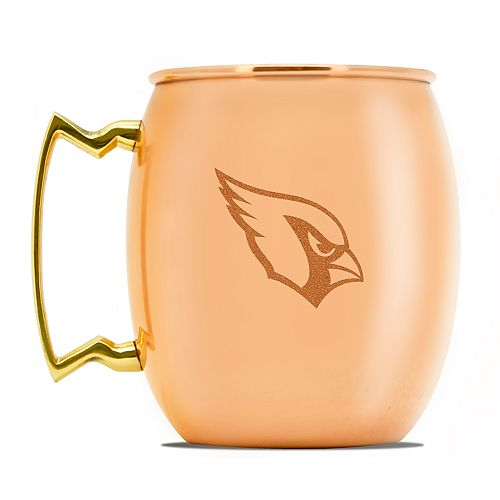 Arizona Cardinals Copper Moscow Mule Mug